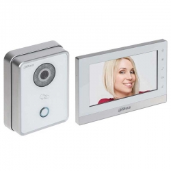 Intercomunicador Dahua VTO6210BW 1MP 7' Touch IP65