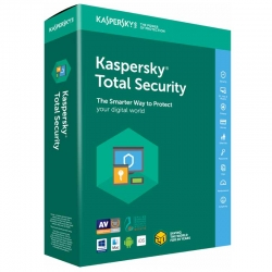 Antivirus Kaspersky Total Security 1 Disp 1 Año