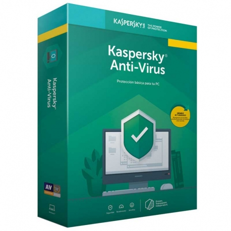 Licencia Kaspersky Anti-Virus Básica 5 Disp 1 Año