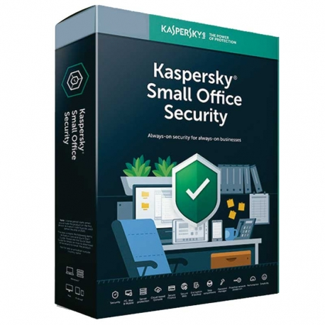 Antivirus Kaspersky Small Office 10 Disp 3 Años