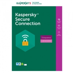 Antivirus Kaspersky Secure Connection 5 Disp 1 Año