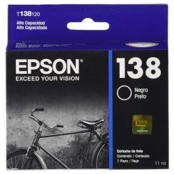 Cartucho de Tinta Epson T138120-AL Original Negro