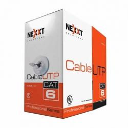 Caja de Cable Nexxt PCGUCC6CMGR 305m UTP Cat6 Gris