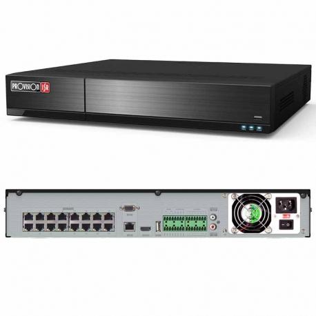 NVR Provision NVR5-16400P(1.5U) 16CH 8MP PoE ONVIF