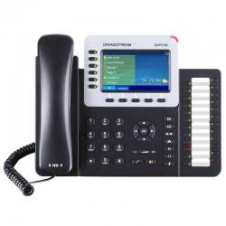 Teléfono IP Grandstream GXP2160 6 SIP Dual PoE HD