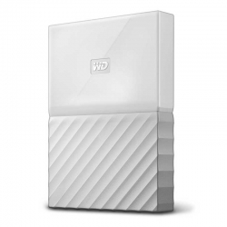 Disco Externo WD My Passport 1TB USB 3.0 Blanco