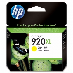 Cartucho de Tinta HP 920XL Amarillo Original 6ml