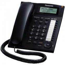 Teléfono Panasonic KX-TS880B Análogo Altavoz LED