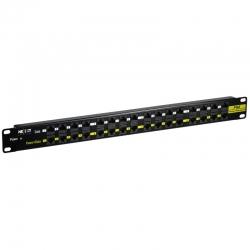 Patch Panel Nexxt 16P + 16P PoE 48VDC 160W