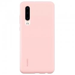 Estuche para Celular Huawei P30 Rosado Silicona