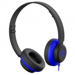 Audífonos HP 200 Alámbricos 3.5mm Plegables Azul