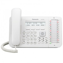 Teléfono Digital Panasonic KX-DT543-W 24 Botones