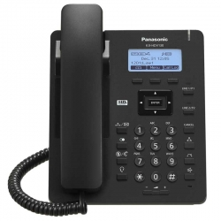 Teléfono IP Panasonic KX-HDV130B SIP PoE 100Mbps