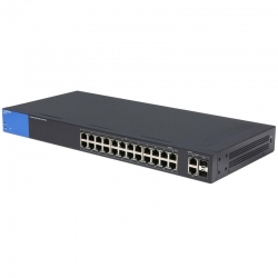 Switch Linksys LGS326P 24P GigaE 2P FO-SFP PoE