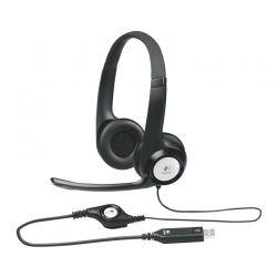 Headsets Logitech H390 Plush Padded Comfort USB