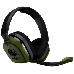 Headset Logitech A10 Call Of Duty 3.5mm Verde