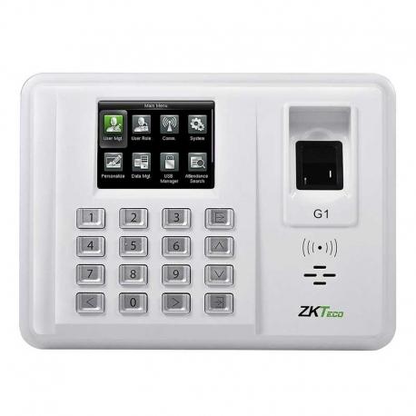 Reloj Biométrico ZKTeco G1 TCP/IP 5000 Huellas