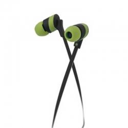 Audífono alámbrico Klip Xtrem-Wired-3.5mm-Verde