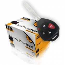 Alarma EAGLE EYE LX-A25 Para Vehiculo, Anti-scan