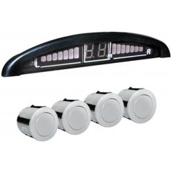 Sensor Retroceso EAGLE B087 Blanco Bumper Plastico