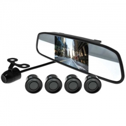 Dashcam EAGLE EYE NEGR Kit Asistencia En Reversa.