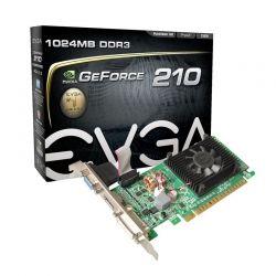 Tarjeta Gráfica EVGA GeForce 210 1GB 64Bit DDR3