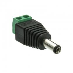 Conector Eléctrico AccessPRO JR52 Macho 3.5mm 12V