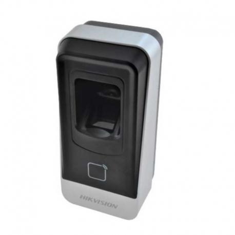 Lectora Dactilar Hikvision IP65 RS485 EM/ MIFARE-1