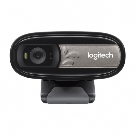 Cámara Web Logitech C170 Usb 2.0 Microfono 5Mp