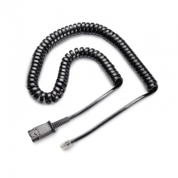 Cable para Headset Plantronics Macho Rj11 10Ft