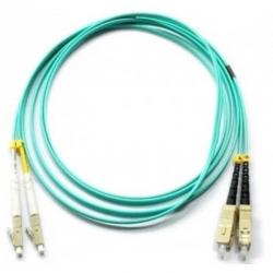 Cable Fibra Óptica OM3 LC-UPC/SC-UPC 2.5M Azul