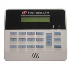 Teclado LCD ELECTRONIC LINE EL-3108 ML Iluminación