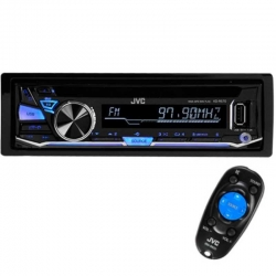 Radio JVC Caratula desmontable AUX-USB CD-MP3