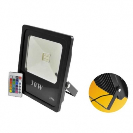 Luz Led LIGTHNING IP66 RGB 230mmX192mm 50000h 30W