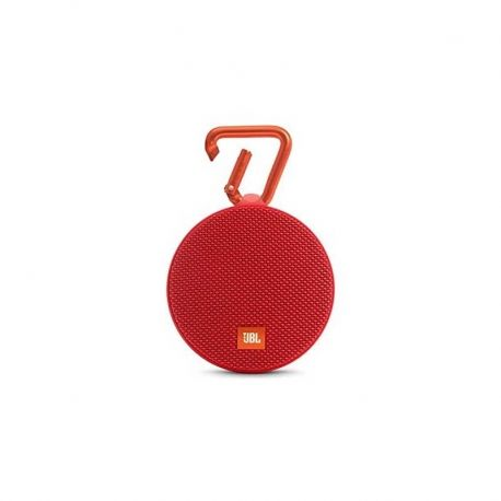 Parlante JBL Clip 2 Portable Bluetooth Red