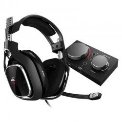 Headset Logitech Astro A40 Alambricos Negros 3.5mm