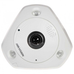 Cámara IP Hikvision DS-2CD6362F-IVS 6MP 360 PoE