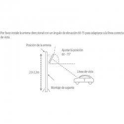 Tarjeta ISO ZKTeco UHF1-TAG1 Largo Alcance 10m