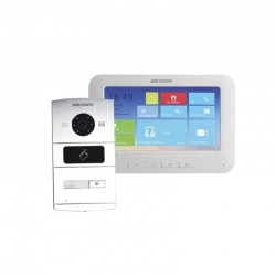 Intercomunicador Hikvision DS-KIS601 1.3Mp Touch