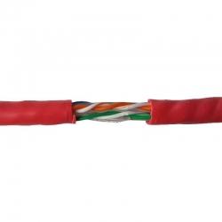 Carrucha de cable flux CAUTP6AUL Utp Cat6A 305m
