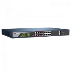 Switch Hikvision DS-3E0318P-E PoE 16CH GigaE 250W