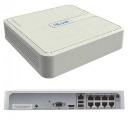 DVR Hikvision NVR-108-HD/8P 4MP 8CH Poe 4K H.265