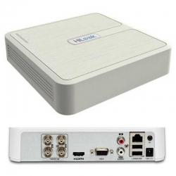 DVR Hikvision DVR-104G-F1 Pentahibrido 4CH 720p