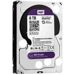Disco Duro Western Digital Purple 6Tb 64MB 5400rpm