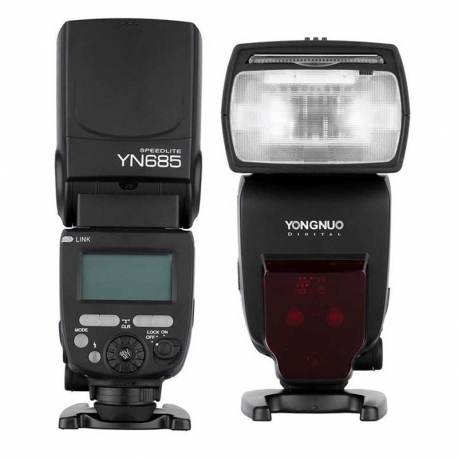 Flash Yongnuo YN685 2.4G sistema ETTL HSS Canon