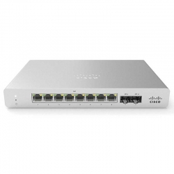 Switch Meraki MS120-8LP-HW 8CH 1000Mbps PoE 67W