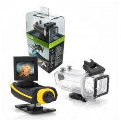 Camara Clear Vision Portatil Amarillo 1080P 2.0mm