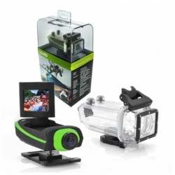 Camara Clear Vision Portatil Verde 1080P 2.0mm