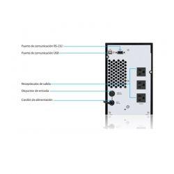 Batería UPS Forza FDC-RT 1000VA/700W Senoidal
