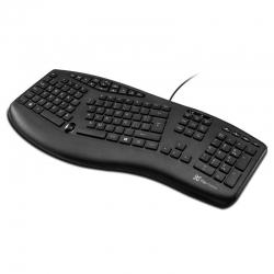 Teclado Klip Xtreme KBK-250 Ergonomico USB Español
